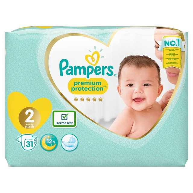 Pampers Premium Protection 2 dydis (4-8 kg)