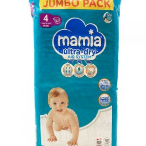 Mamia Ultra Dry Air System 4 dydis (7-18 kg)