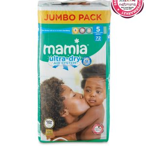 Mamia Ultra Dry Air System 5 dydis (11-25 kg)