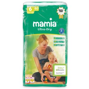 Mamia Ultra Dry Air System 6 dydis (15+ kg)