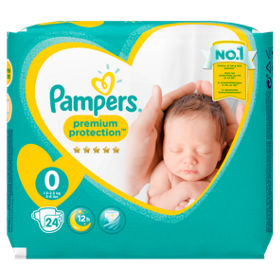Pampers Premium Protection 0 dydis (0-3 kg)