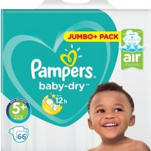 Pampers Baby Dry 5+ dydis (12-17 kg)