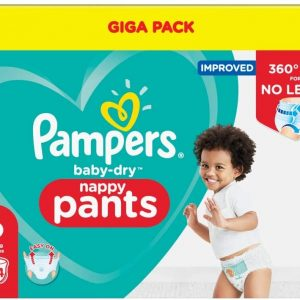 Pampers Baby Dry Pants 6 dydis (15+ kg)
