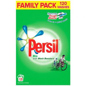 Persil Bio Family Pack 120 Washes - 8.4 kg