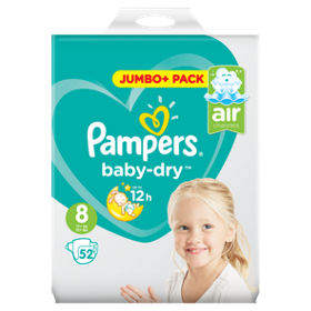 Pampers Baby Dry 8 dydis (17+ kg)