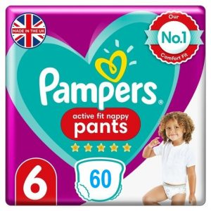 Pampers Active Fit Pants 6 dydis (15+ kg)