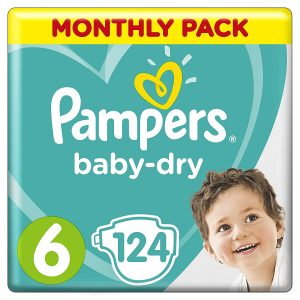 Pampers Baby Dry 6 dydis (13-18 kg)