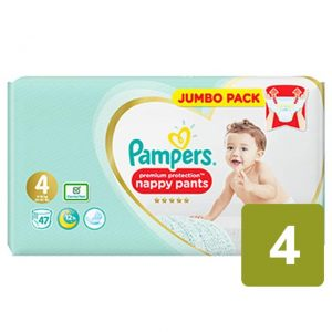 Pampers Premium Protection Pants 4 dydis (9-15 kg)