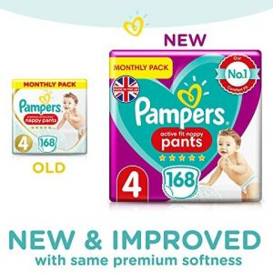 Pampers Active Fit Pants 4 dydis (9-15 kg)