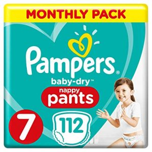 Pampers Baby Dry Pants 7 dydis (17+ kg)