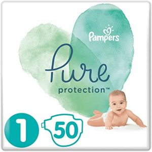 Pampers Pure Protection 1 dydis (2-5 kg)