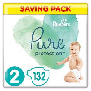 Pampers Pure Protection 2 dydis (4-8 kg)
