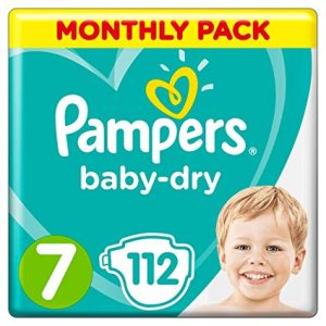 Pampers Baby Dry 7 dydis (15+ kg)