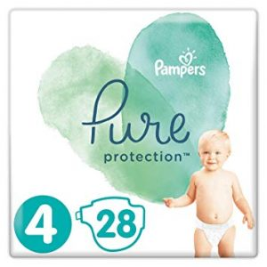 Pampers Pure Protection 4 dydis (9-14 kg)