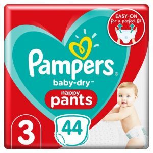 Pampers Baby Dry Pants 3 dydis (6-11 kg)
