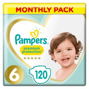 Pampers Premium Protection 6 dydis (13+ kg)