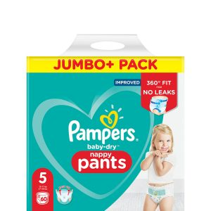 Pampers Baby Dry Pants 5 dydis (12-17 kg)