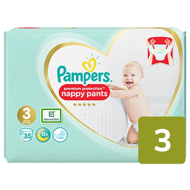 Pampers Premium Protection Pants 3 dydis (6-11 kg)
