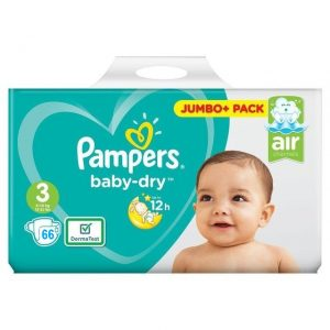 Pampers Baby Dry 3 dydis (6-10 kg)