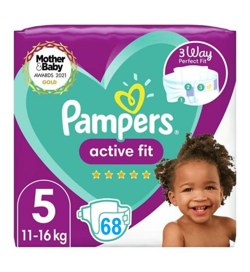 Pampers Active Fit 5 dydis (11-16 kg)