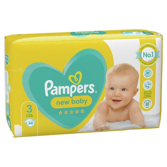 Pampers new baby 3 dydis (6-10 kg)